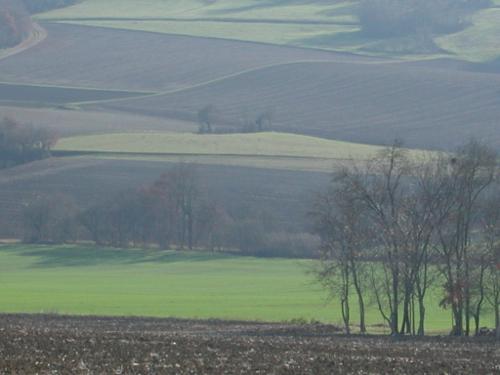 Marmont-Pachas, sur le GR 652 des pélerins de St-Jacques