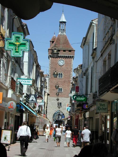 Villeneuve-sur-Lot, la visite de la Bastide