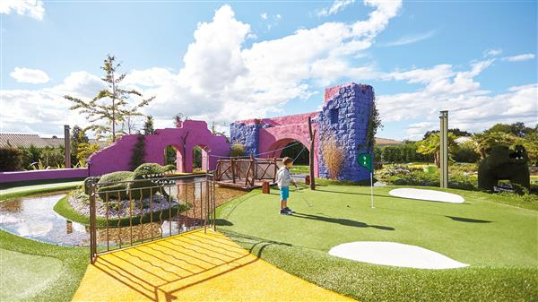 Le mini-golf Fantasia