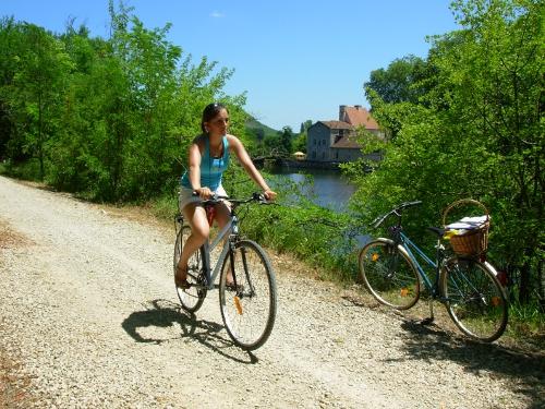 Véloroute de la Vallée du Lot d'Aiguillon à Fumel