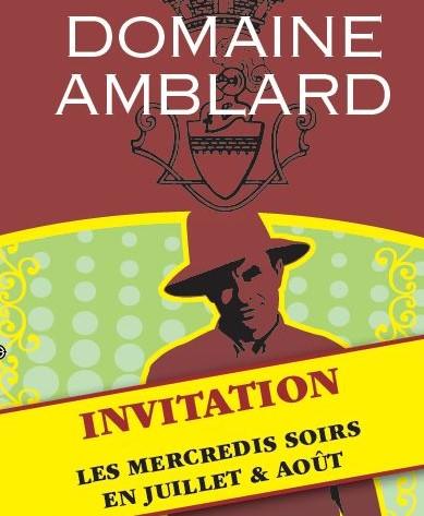 Soirée découverte au Domaine Amblard