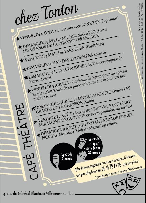 Chez Tonton - Michel Maestro