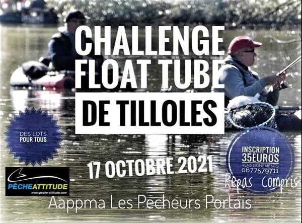 Challenge Float Tube de Tilloles